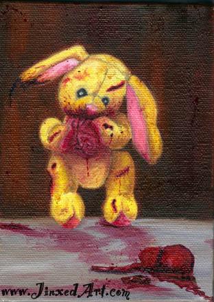 Zombie Bunny h2omark
